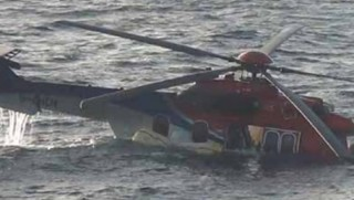 İran'da helikopter düştü