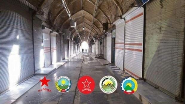 Doğu Kürdistanlı partilerden ortak açıklama: Destekliyoruz