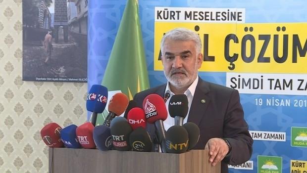 Hüda-Par: Kürtler kiracı veya mülteci değil, bu vatanın gerçek sahibi