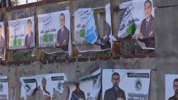 Kekük'te, Kürt adayların afişlerine saldırı