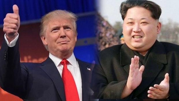Trump mesajı Twitter'da verdi: Kuzey Kore ve dünya için çok güzel haber