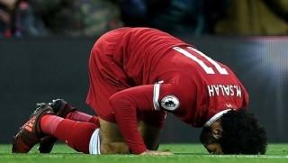 Muhammed Salah'ın secdesine sansür!