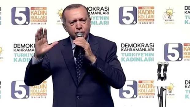 Erdoğan: Kürtlerin partisi falan yok!