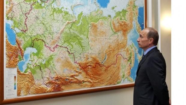 Putin'den talimat! Dünya haritasını değiştirin
