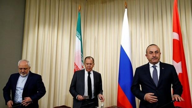 Rusya'da Suriye için üçlü dışişleri bakanları toplantısı