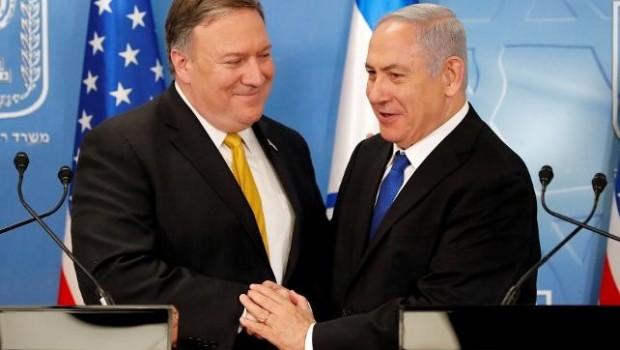ABD Dışişleri Bakanı Pompeo İsrail'de