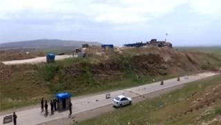 Bağdat, Musul - Berdereş karayolunu kapattı