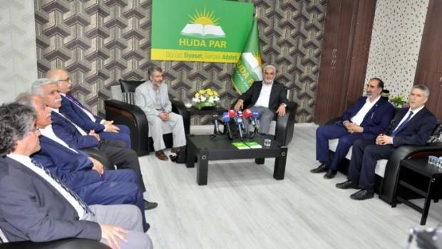 'Kürdistani seçim ittifakı', Hüda Par'ı ziyaret etti