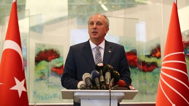 CHP'nin cumhurbaşkanı adayı Muharrem İnce oldu