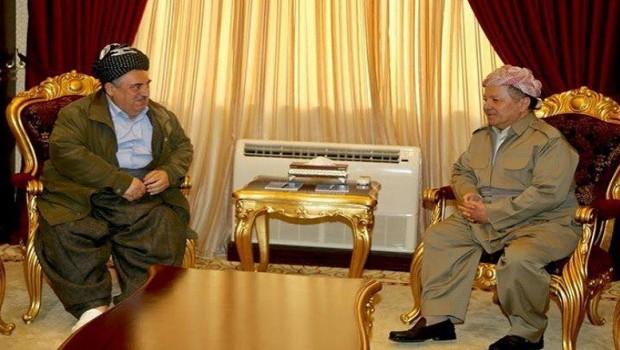 Başkan Barzani, KSDP liderini kabul etti