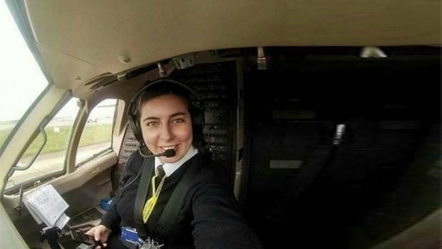 Cizreli Dilan, ABD'de pilot oldu