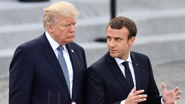 Fransa'dan, Trump iddiasına yalanlama