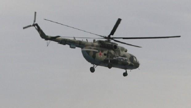 Suriye'de Rus savaş helikopteri düştü!