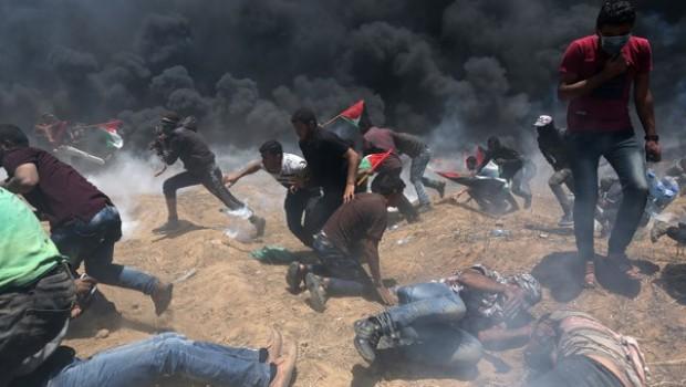 ABD'nin Kudüs Büyükelçiliği açıldı: Gazze'de en az 41 ölü, yüzlerce yaralı