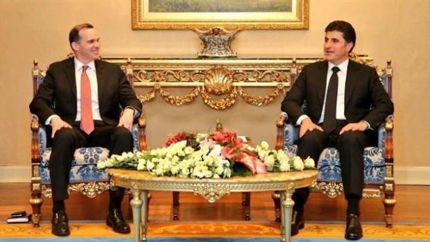Başbakan Barzani ve McGurk seçimi görüştü