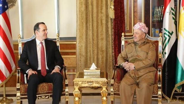 Başkan Barzani'yle görüşen McGurk: Kürtlersiz olmaz