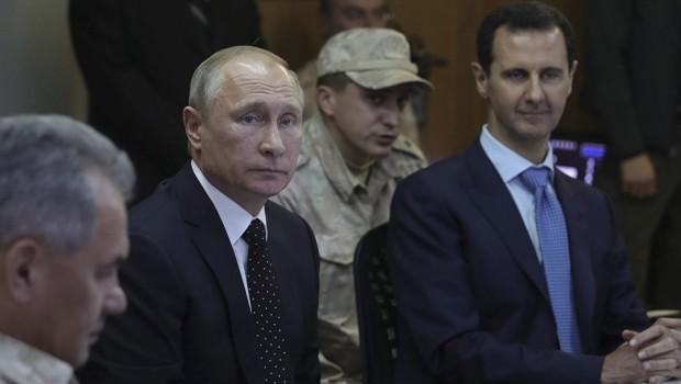 Putin: Yabancı silahlı güçler Suriye'den çıkarılmalı
