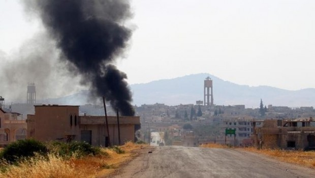 Hama'da ard arda patlamalar