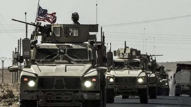 ABD'nin askeri konvoyu Haseke'de