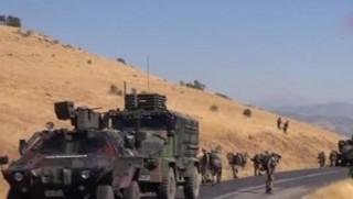 Ağrı'da askeri aracın geçişi sırasında patlama