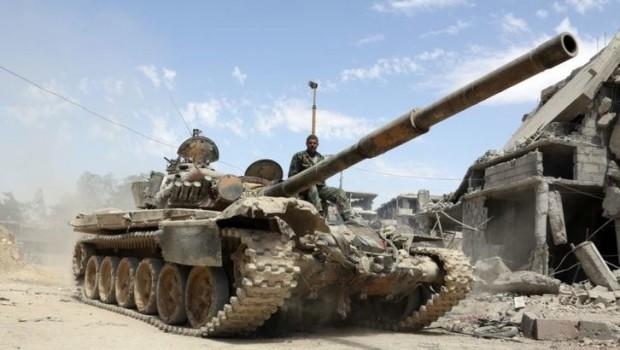 Suriye ordusu'ndan IŞİD'e darbe.. Son kaleside alındı