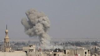 SANA: Koalisyon uçakları Esad güçlerini vurdu!