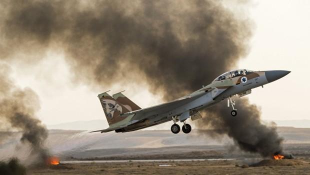 İsrail Suriye hava üssünü vurdu