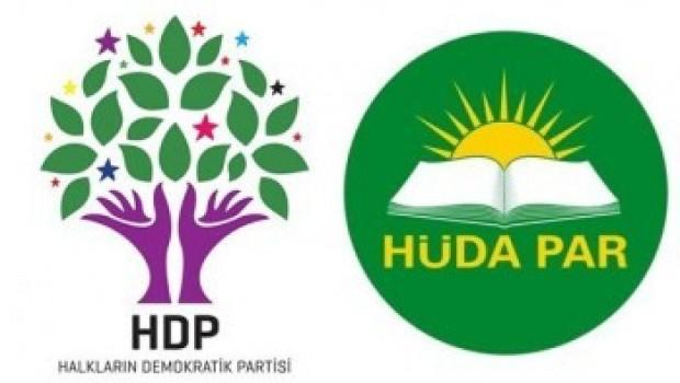 Hüda-Par'ın açıklamasına HDP'den ilk tepki