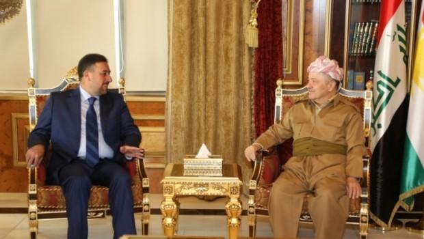 Iraklı heyetten Barzani'ye: Tarih boyunca asla unutulmayacak