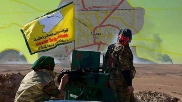 Rakka'da DSG ile Siwwar El-Reqa arasında açatışma