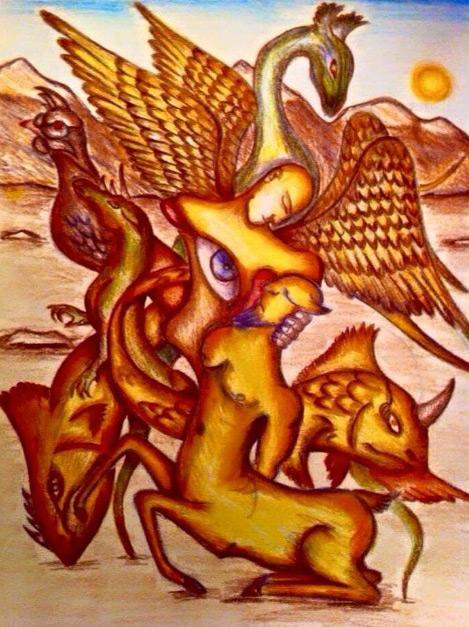 Kürt ressam NUH Ateş 'in kaleminden Gafur Gökmen'in yaşam hikayesi