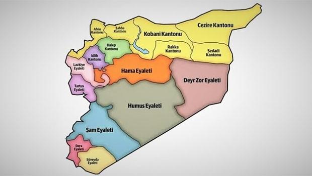 Kuzey Suriye'de Sunni Arap federasyonu