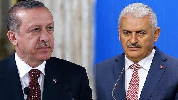 Erdoğan ve Yıldırım'dan Kandil mesajı