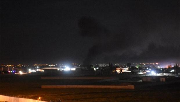 YPG üssünde büyük patlama!