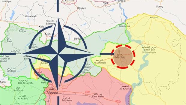 Bir Menbic açıklaması da NATO'dan