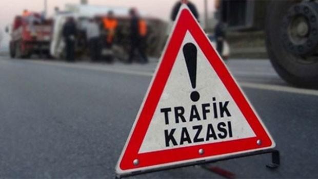 Erzincan'da yolcu otobüsü devrildi