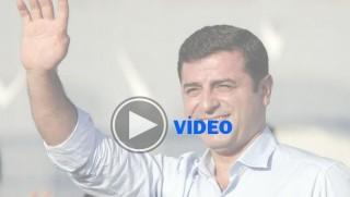 İşte Demirtaş'ın cezaevinden yaptığı miting
