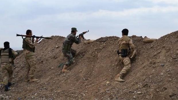 Gece yarısı Kürt köylerine saldıran IŞİD'e Peşmerge'den sert yanıt