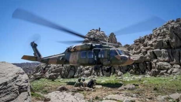 Kandil Dağı etekleri bombalandı