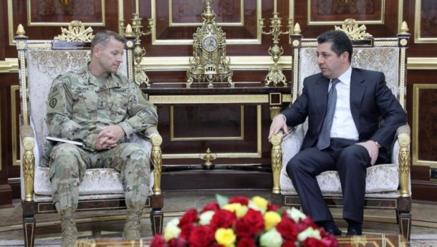 ABD'li generalden Mesrur Barzani'ye son ziyaret