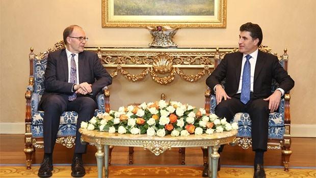 Başbakan Barzani'den ABD heyetine: Katkı sunacağız!