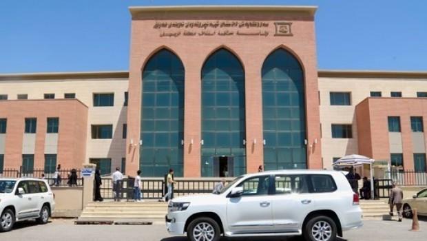 Erbil'deki adliye binasına silahlı saldırı