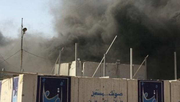 Irak'ta oy pusulalarının olduğu depoda yangın