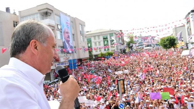 İnce Diyarbakır'da konuştu: Kardeş kavgası son bulsun
