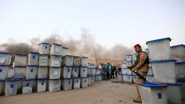 'Kürdistan'a ait seçim sandıkları yanmadı'