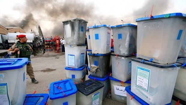 Irak İçişleri Bakanı: Sandıklar kasıtlı olarak yakıldı