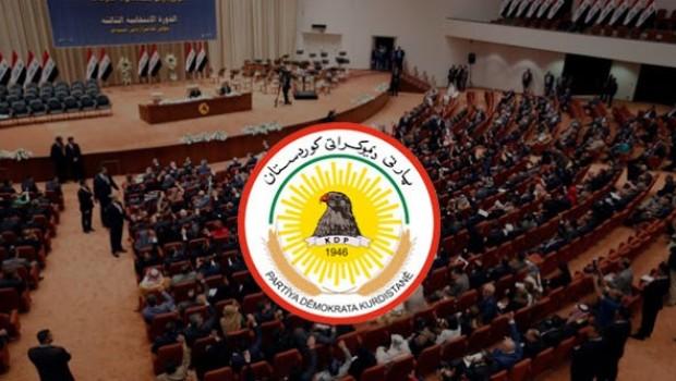 PDK, Irak Parlamentosuna dava açtı