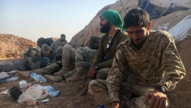 Arap birlikleri SDG'ye destek için Haseke'de