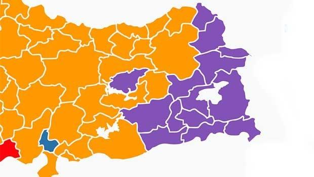 SAMER araştırması:Kürt illerinde son durum!