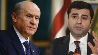 Bahçeli'den HDP'ye: Demirtaş'tan başka aday yok muydu?